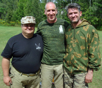 Rich with Mikhail & Vladimir, Canada 2010
