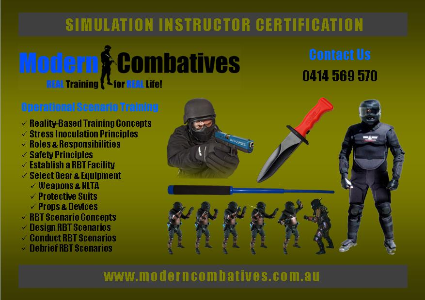 Modern Combatives Real Training For Real Life Specialised